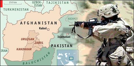 Afghanistan Afghan War by American Soliders