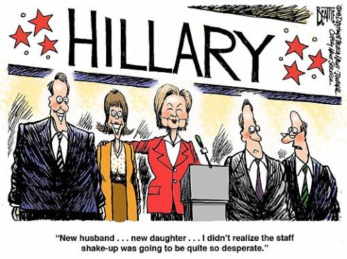 hillary clinton campaign shakeup mismanagement